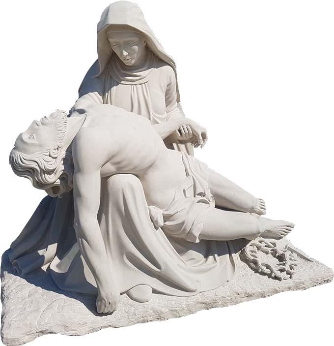 pieta rzeźba kamień piaskowiec