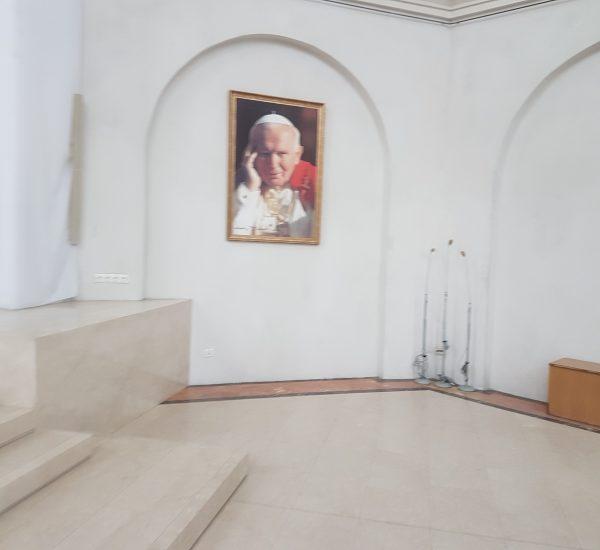 Schody, kamień podłogowy, kościoły